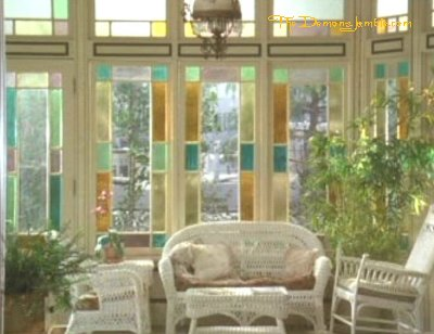 The Manor { Conservatory and dining room }
