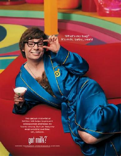Austin Powers Got leche