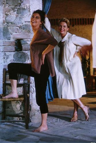 Ava Gardner and Deborah Kerr