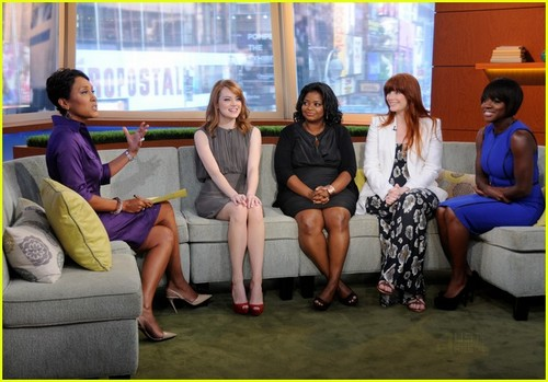 Emma Stone & Bryce Dallas Howard 'Help' GMA