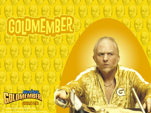 Goldmember kertas dinding