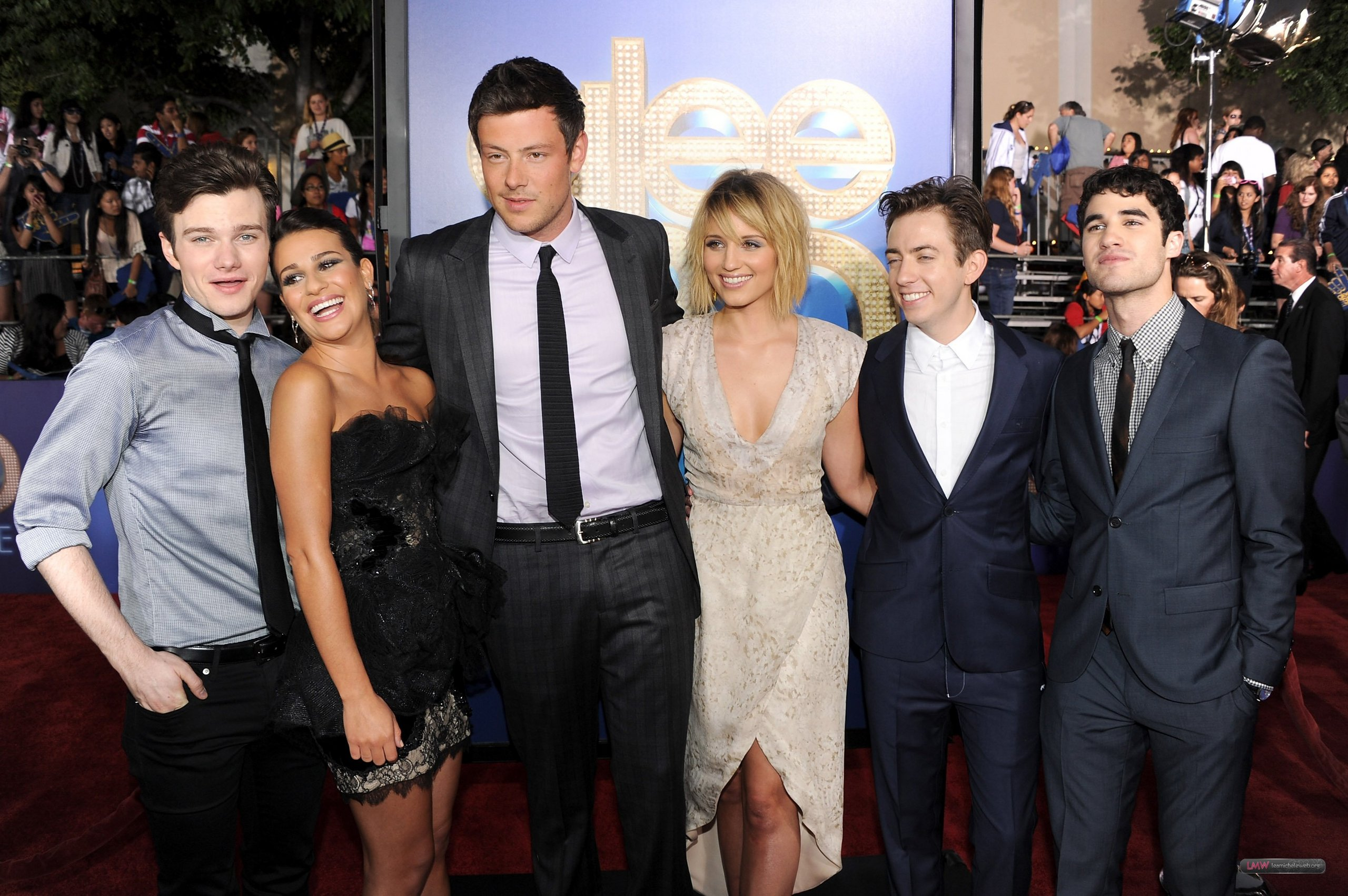"Lea @ The Premiere of ""Glee The 3D Concert Movie"""