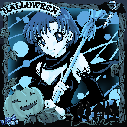Sailor Mercury Halloween
