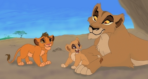 Vitani and Kopa (with Zira)