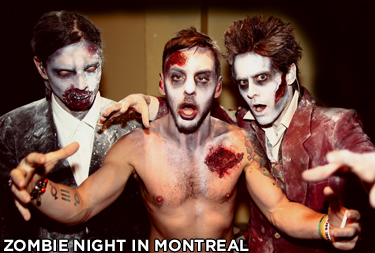 Zombie Night in Montreal