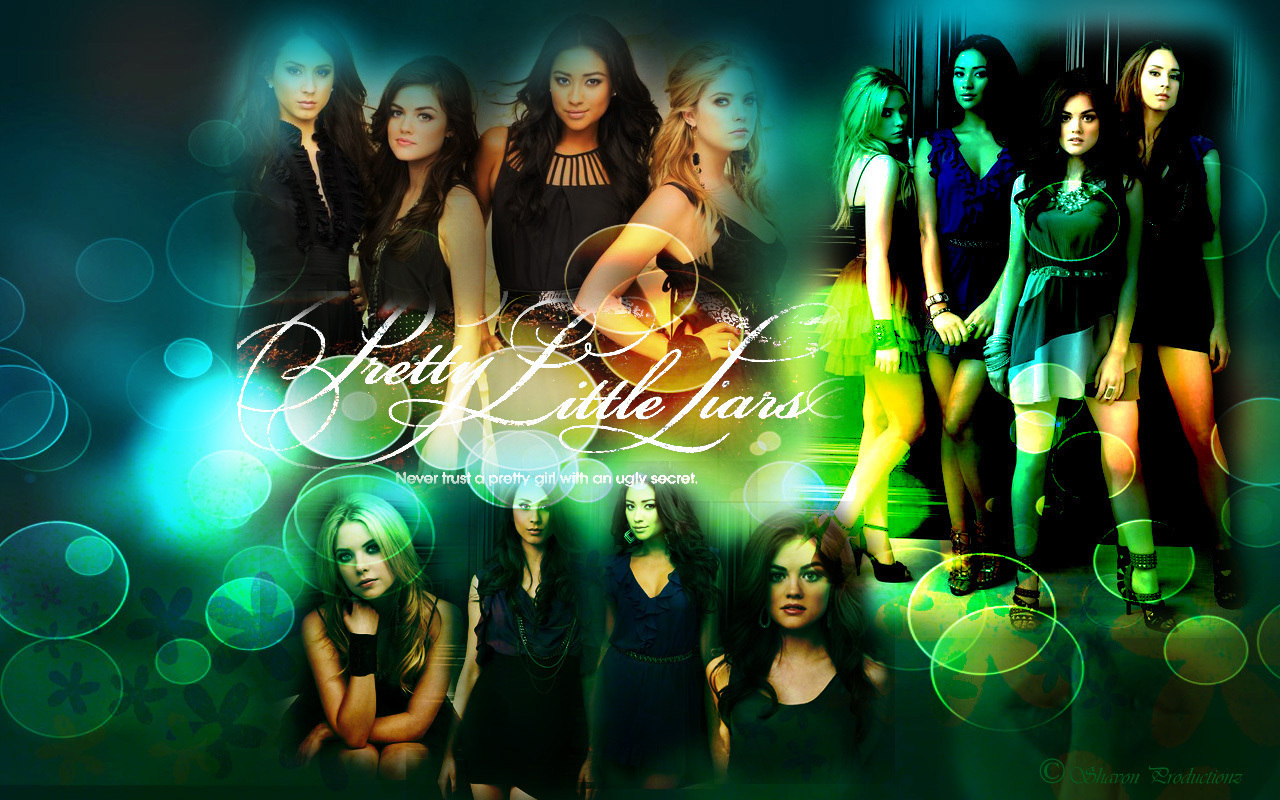 P L L Uithangbord Paper Pretty Little Liars Tv Toon Achtergrond