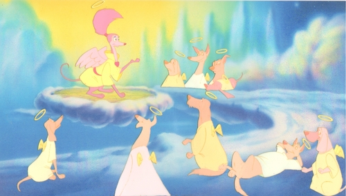 All chiens Go To Heaven Production Cel