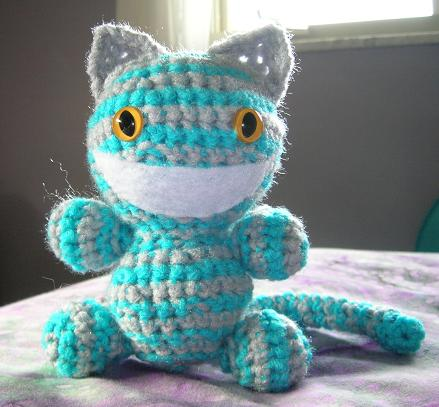 Cheshire Cat crochet