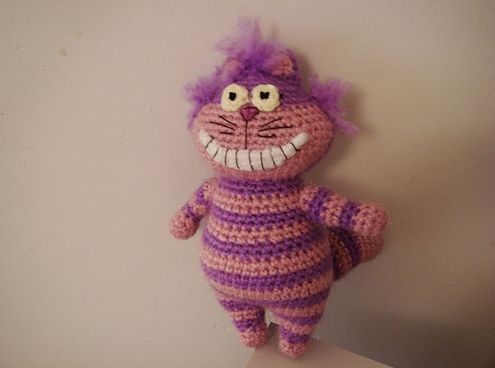 Crocheted Cheshire Cat