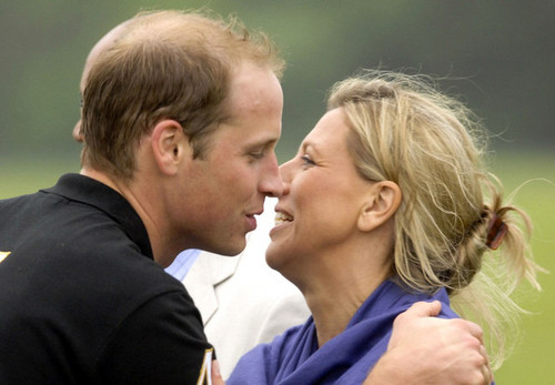 Harry and William at the Sentebale Cup