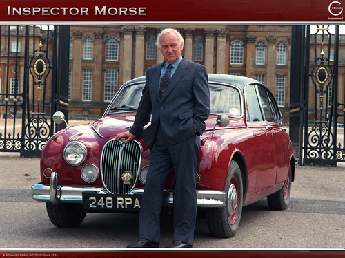 Inspector Morse and his Jag