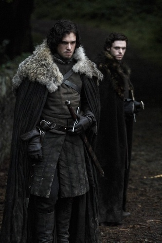 Jon Snow and Robb Stark