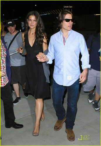 Katie Holmes & Tom Cruise: After Party Pair!