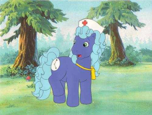 My Little gppony, pony Production Cel