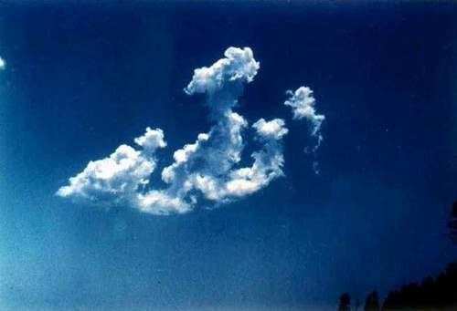 "allah on clouds ""miracle"""