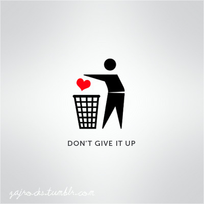 don't give it up