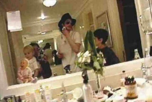 michael with omer and prince and another kid