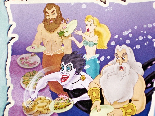 disney Villains: The puncak, atas Secret Files - Ursula