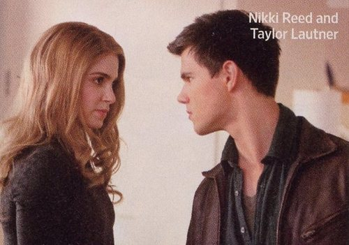 Rosalie and Jacob in Breaking Dawn