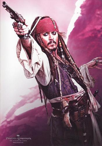 the new Captain Jack Sparrow